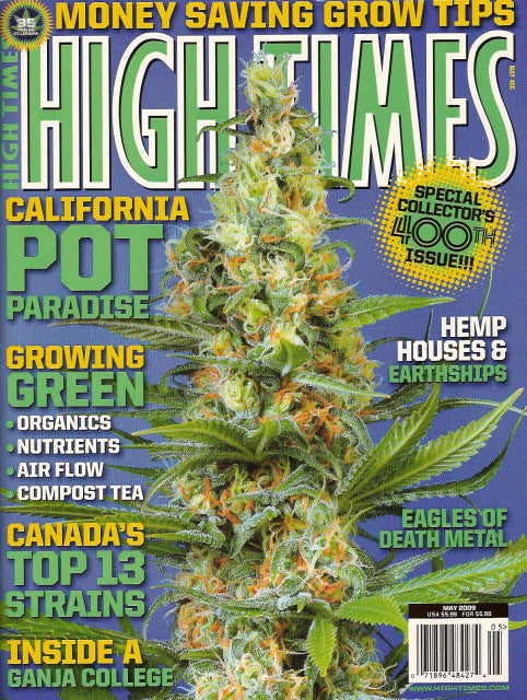 High Times Magazine # 400 - May 2009