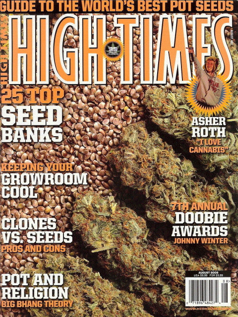 High Times Magazine # 403 - August 2009