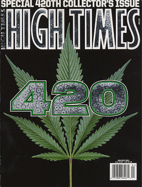High Times Magazine # 420 - January 2011