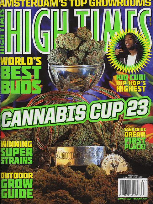 High Times Magazine # 423 - April 2011