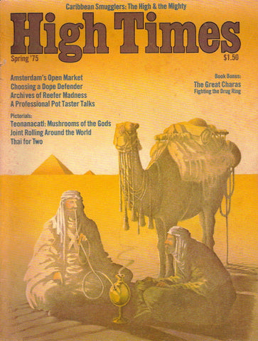 High Times Magazine #  4, Spring 1975