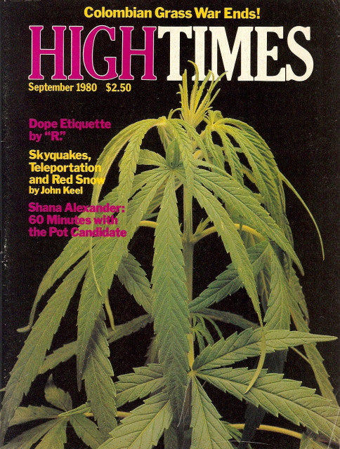High Times Magazine #  61 - September 1980