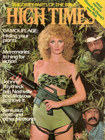 High Times Magazine #  67 - March 1981