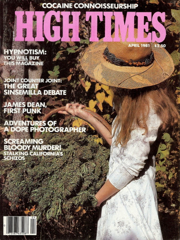 High Times Magazine #  68 - April 1981