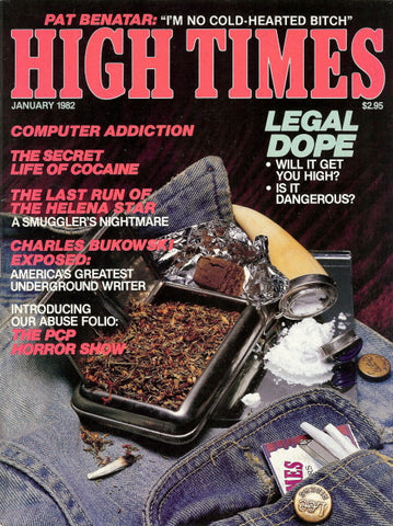 High Times Magazine #  77 - January 1982