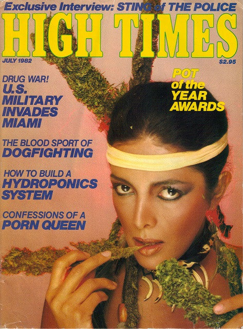 High Times Magazine #  83 - July 1982