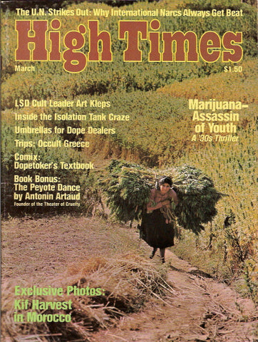 High Times Magazine #  8, March 1976