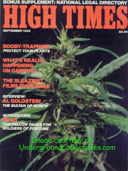 High Times Magazine #  85 - September 1982