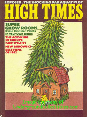High Times Magazine #  91 - March 1983