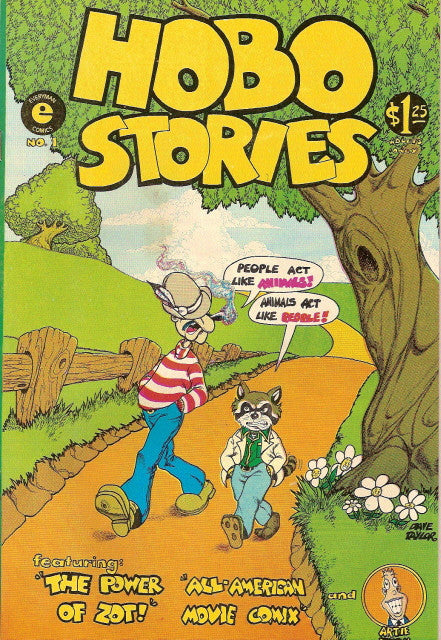 Hobo Stories # 1, signed by Artie Romero