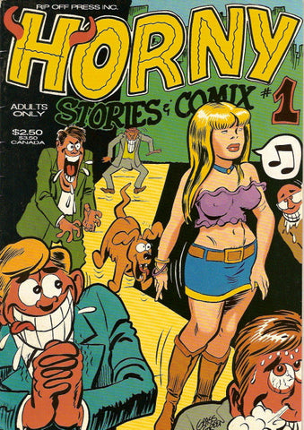 Horny  Stories & Comix # 1