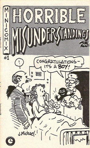Horrible Misunderstandings # 1,  2nd print - signed
