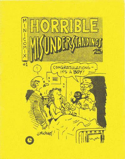 Horrible Misunderstandings # 1, 3rd print