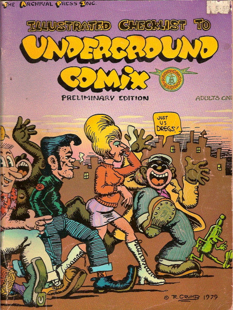 Illustrated Checklist to Underground Comix