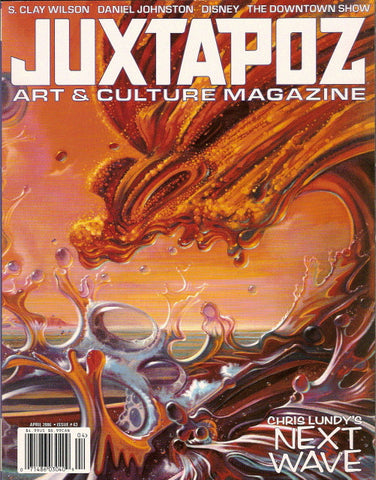 Juxtapoz # 63, April 2006