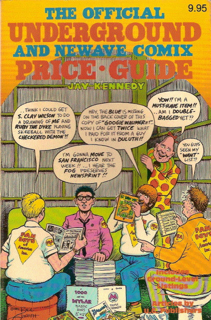 Official Underground Comix Price Guide - Rare Error Edition