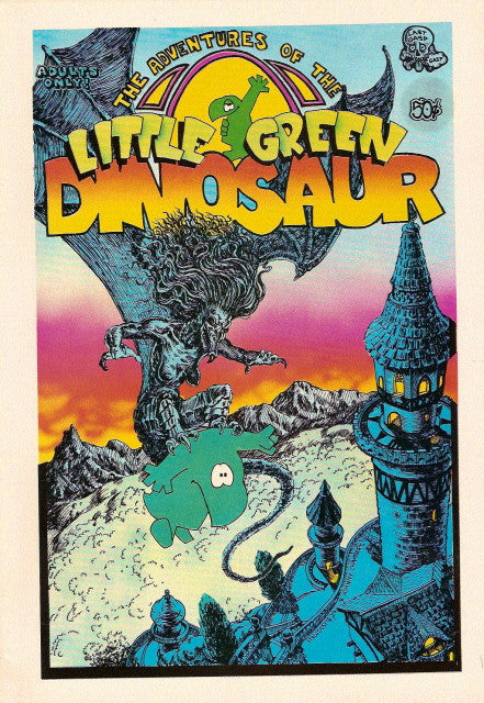 Little Green Dinosaur # 1