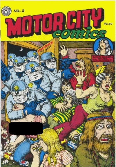 Motor City Comics # 2, 6th print