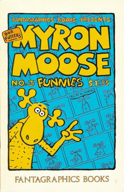 Myron Moose Funnies # 3