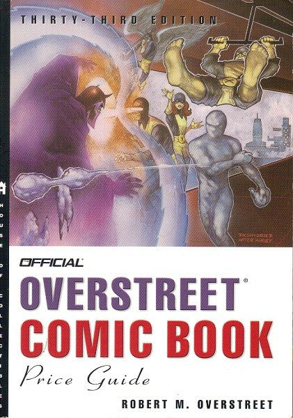 Overstreet Comic Book Price Guide - 33rd Edition