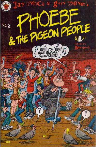 Phoebe & The Pigeon People # 2