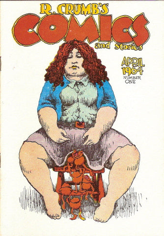 R. Crumb's Comics and Stories, 1st print