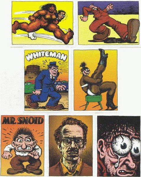 R. Crumb Trading Card Set - 1991