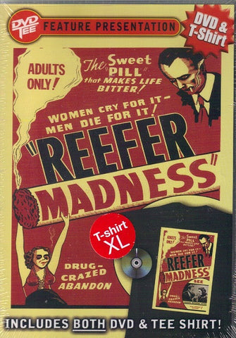 Reefer Madness DVD & T-shirt