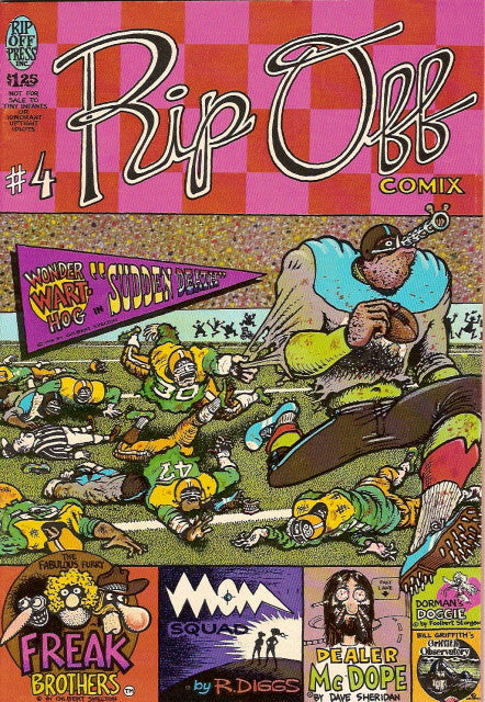 Rip Off Comix #  4, 2nd print