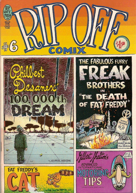 Rip Off Comix #  6