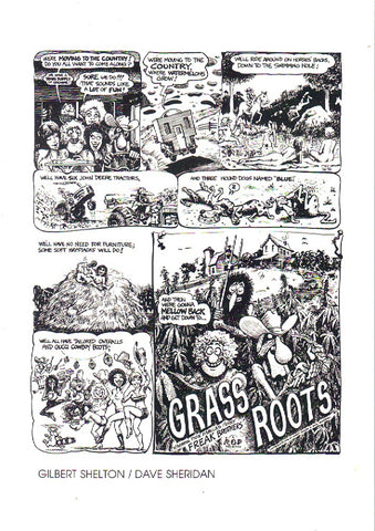 Shelton / Sheridan Grass Roots Handbill