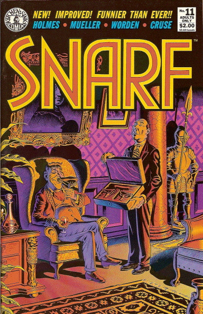 Snarf # 11 - Double Covers!