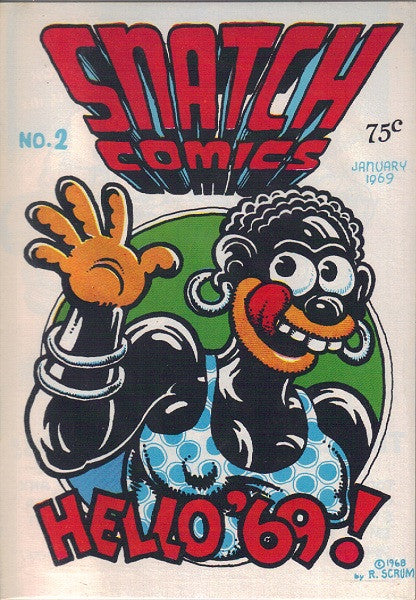Snatch Comics # 2, 6th print