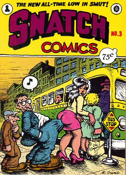 Snatch Comics # 3, 4th print
