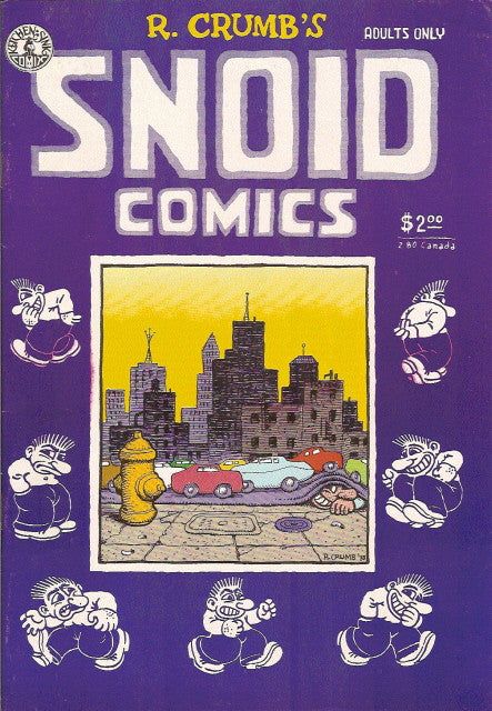 Snoid Comics, 2nd print