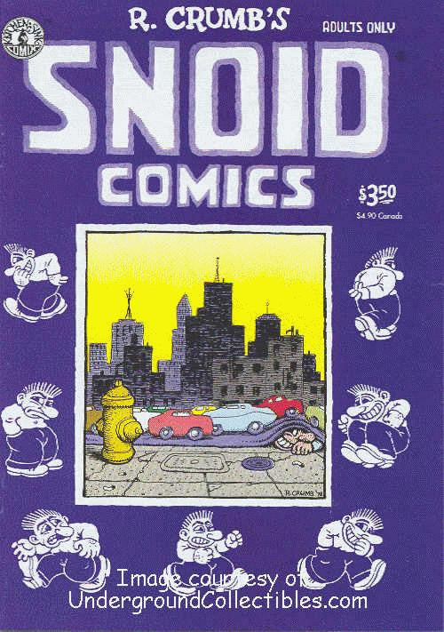 Snoid Comics, 4th print