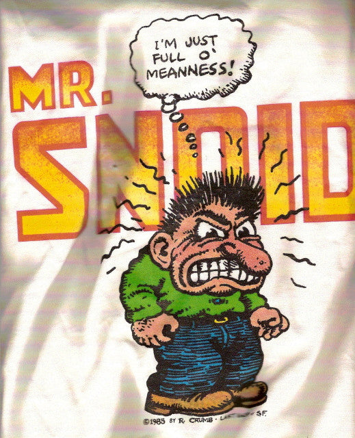 Mr. Snoid, T-Shirt - XL