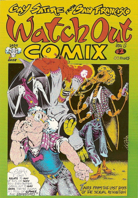 Watch Out Comix # 1