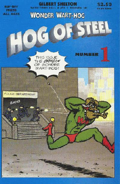 Wonder Wart-Hog - Hog Of Steel # 1