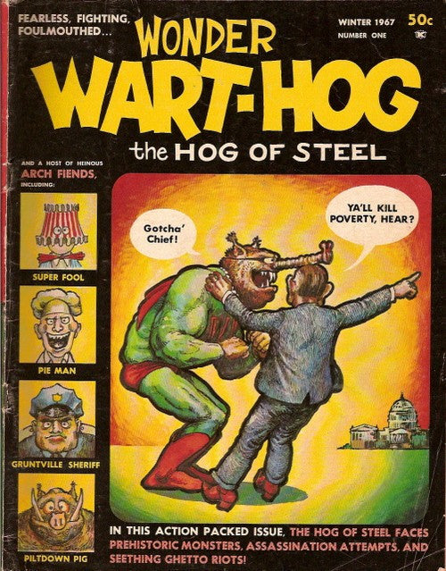 Wonder Wart-Hog # 1