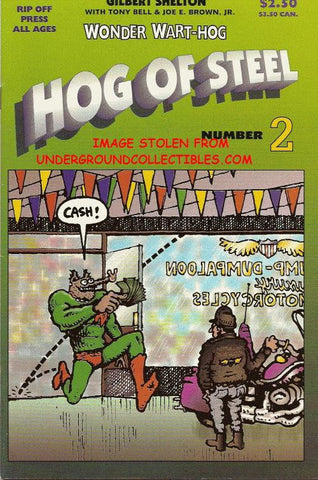 Wonder Wart-Hog - Hog of Steel # 2