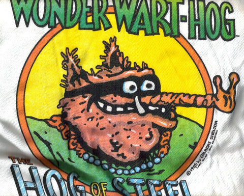 Wonder Wart-Hog - Hog Of Steel, Vintage T-Shirt - XL*