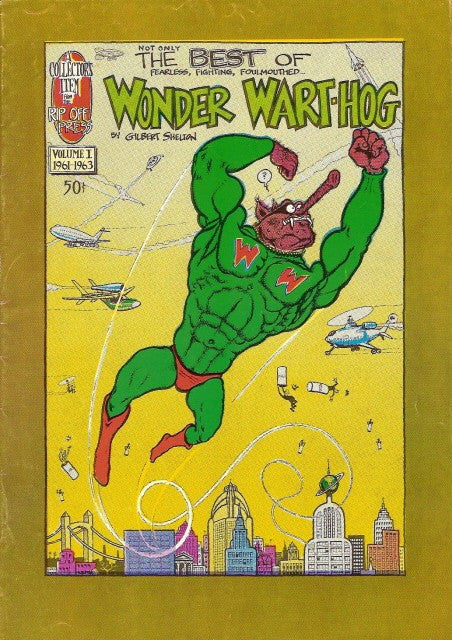 Wonder Wart-Hog # 1 (Not Only) The Best Of, 1st print