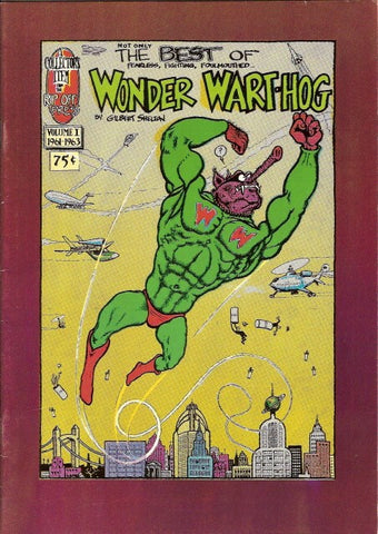 Wonder Wart-Hog # 1 (Not Only) The Best Of, 2nd print