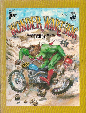 Wonder Wart-Hog # 3 (Not Only) The Best Of, 1st print