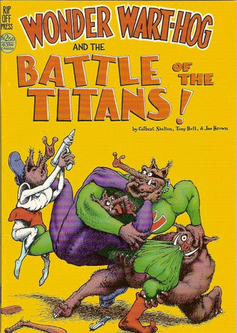 Wonder Wart-Hog and the Battle of the Titans!