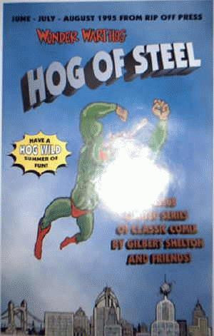 Wonder Wart-Hog: Hog Of Steel Poster