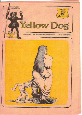 Yellow Dog #  1, 1st print