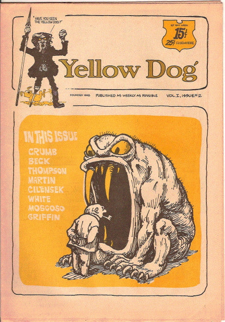 Yellow Dog #  2, 1st print