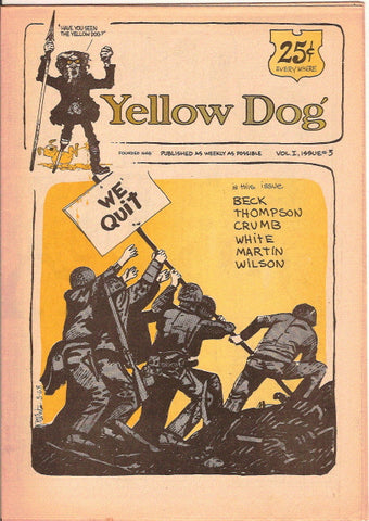 Yellow Dog #  3, 1st print